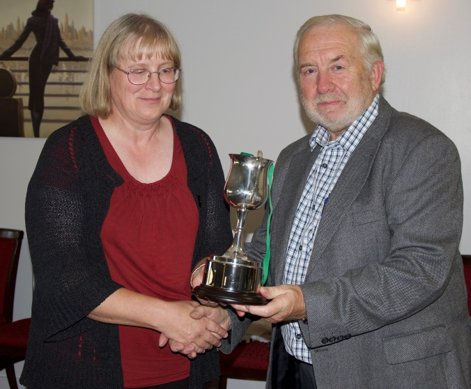 Debbie Ewins, winner Ladies Championship
