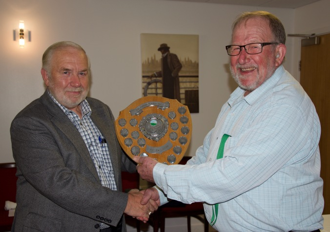 Tony Oldland, winner of the President vs Chairman match