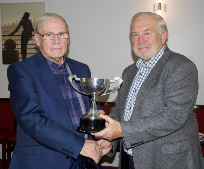 Bob Carey, winner Handicap Singles