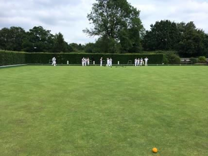 Match under way