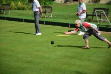 Merrow's Sue leads with a good bowl