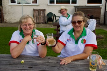 Ladies Championship - Debbie and Sally