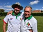 Mens Junior Championship - Julian and Ken