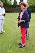 Anne addresses the club members
