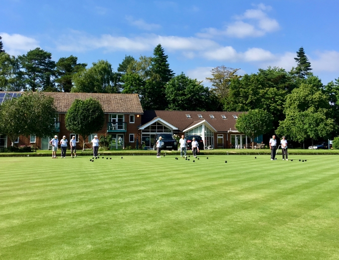 A lovely setting for bowls