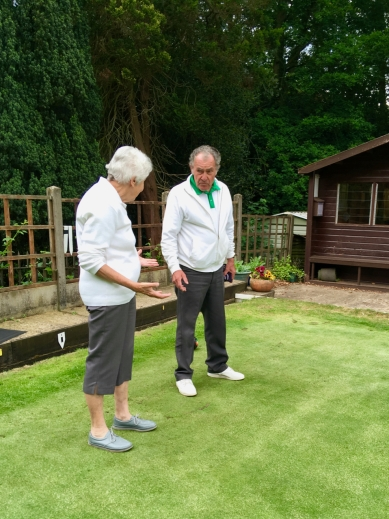 Gill and Ken discuss the match