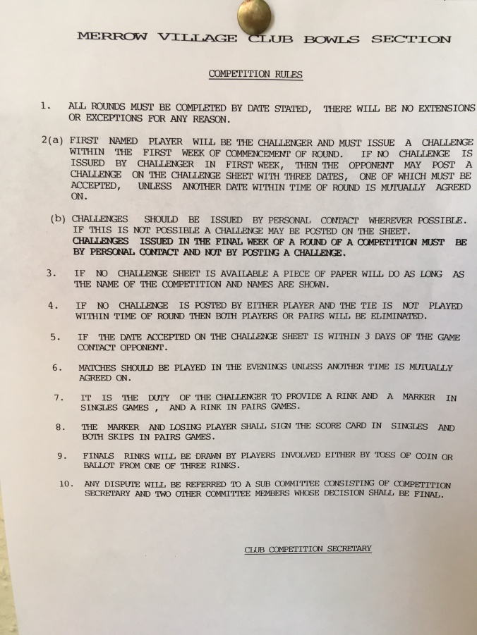 Club Competition Rules