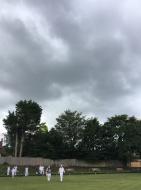 Threatening skies over Merrow