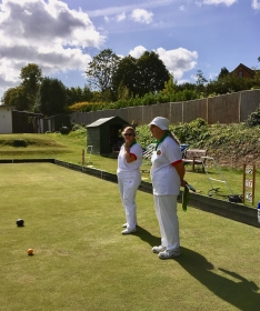 Sally and Debbie await the next bowl