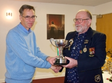 David, Handicap Singles winner