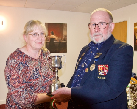 Debbie, Ladies Championship winner