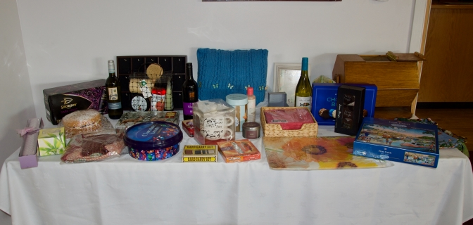 Plenty of raffle prizes