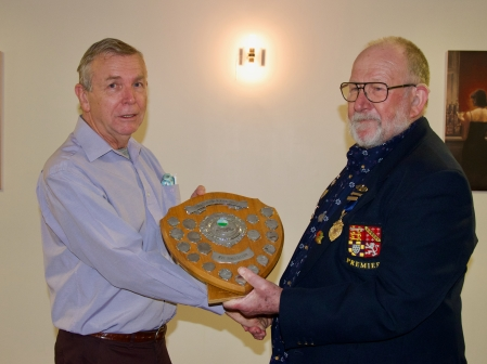 Richard, George Stentiford Shield, for services to the club