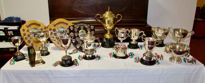 Thr trophies await!