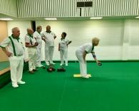Mole Valley prepare to bowl